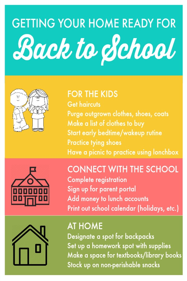 Back to School readiness for the whole family