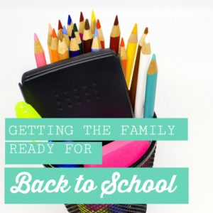 Getting Your Home Ready for Back to School