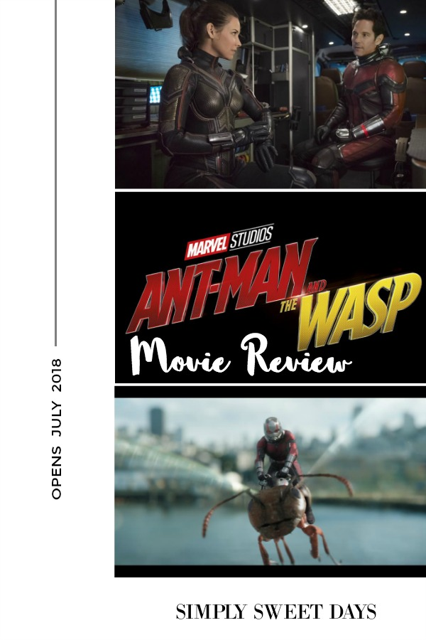 Movie Review of Ant Man and The Wasp Opening July 2018!