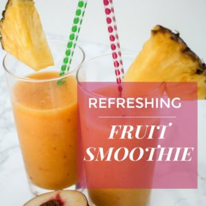 Refreshing Summer Smoothie Recipe