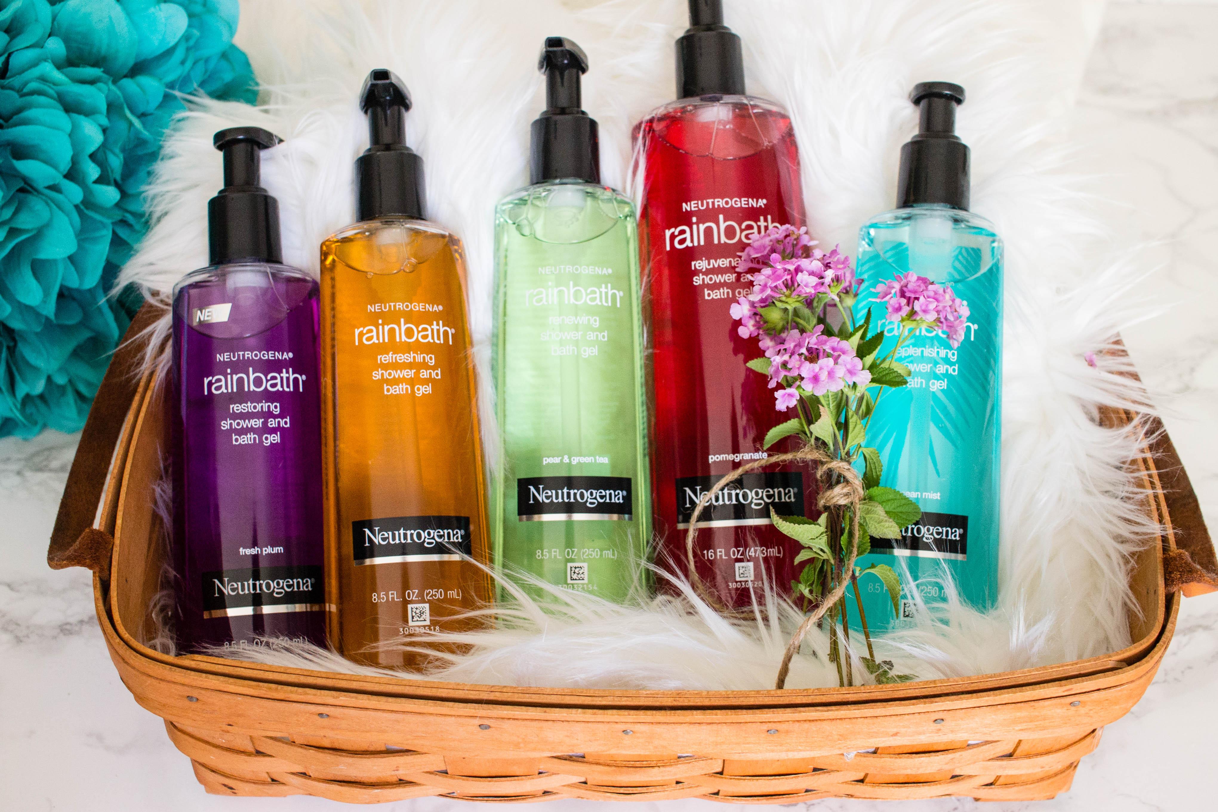 Neutrogena Rainbath 5 soothing bath and shower gel scents