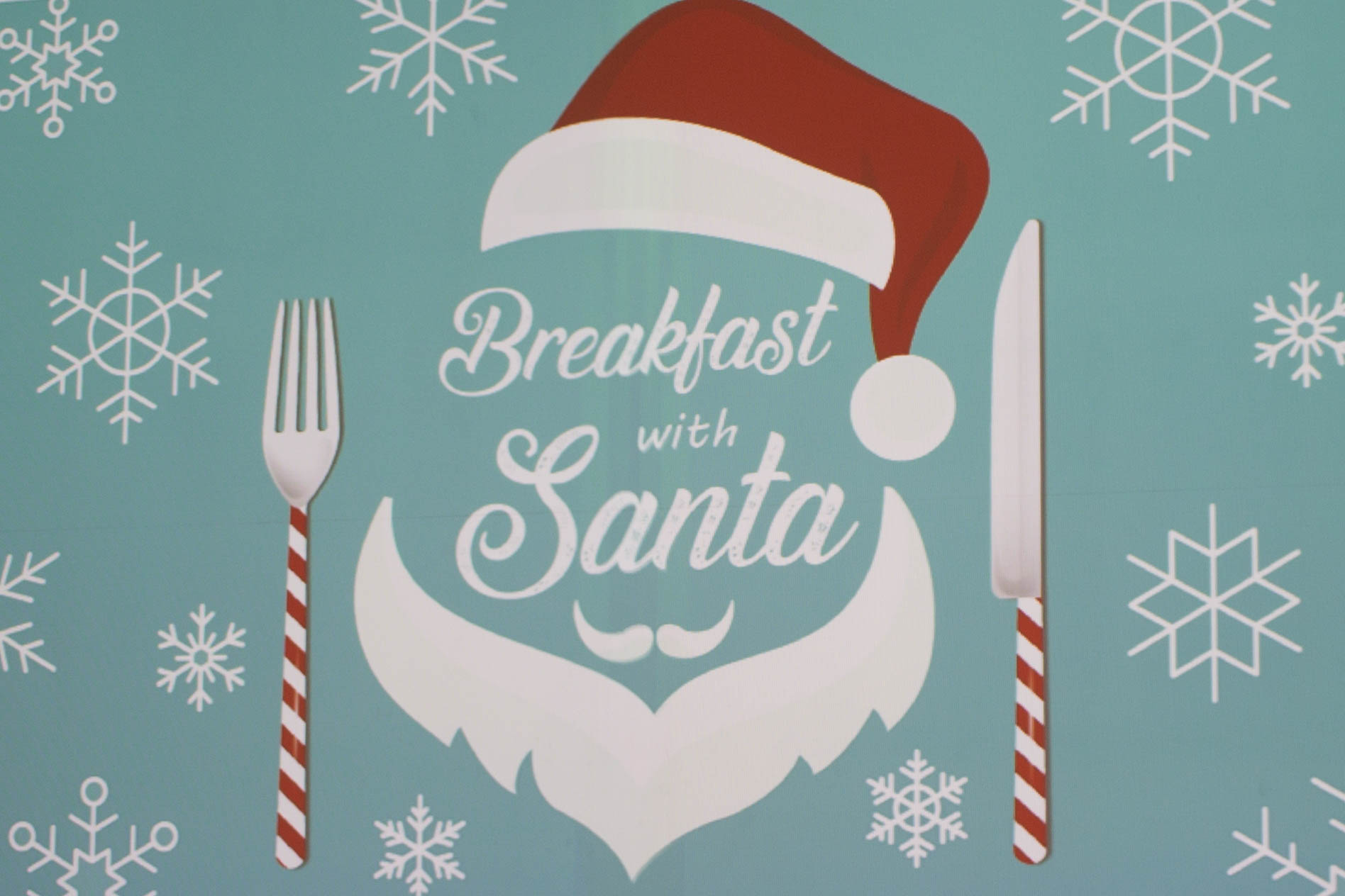 Breakfast with Santa Graphic