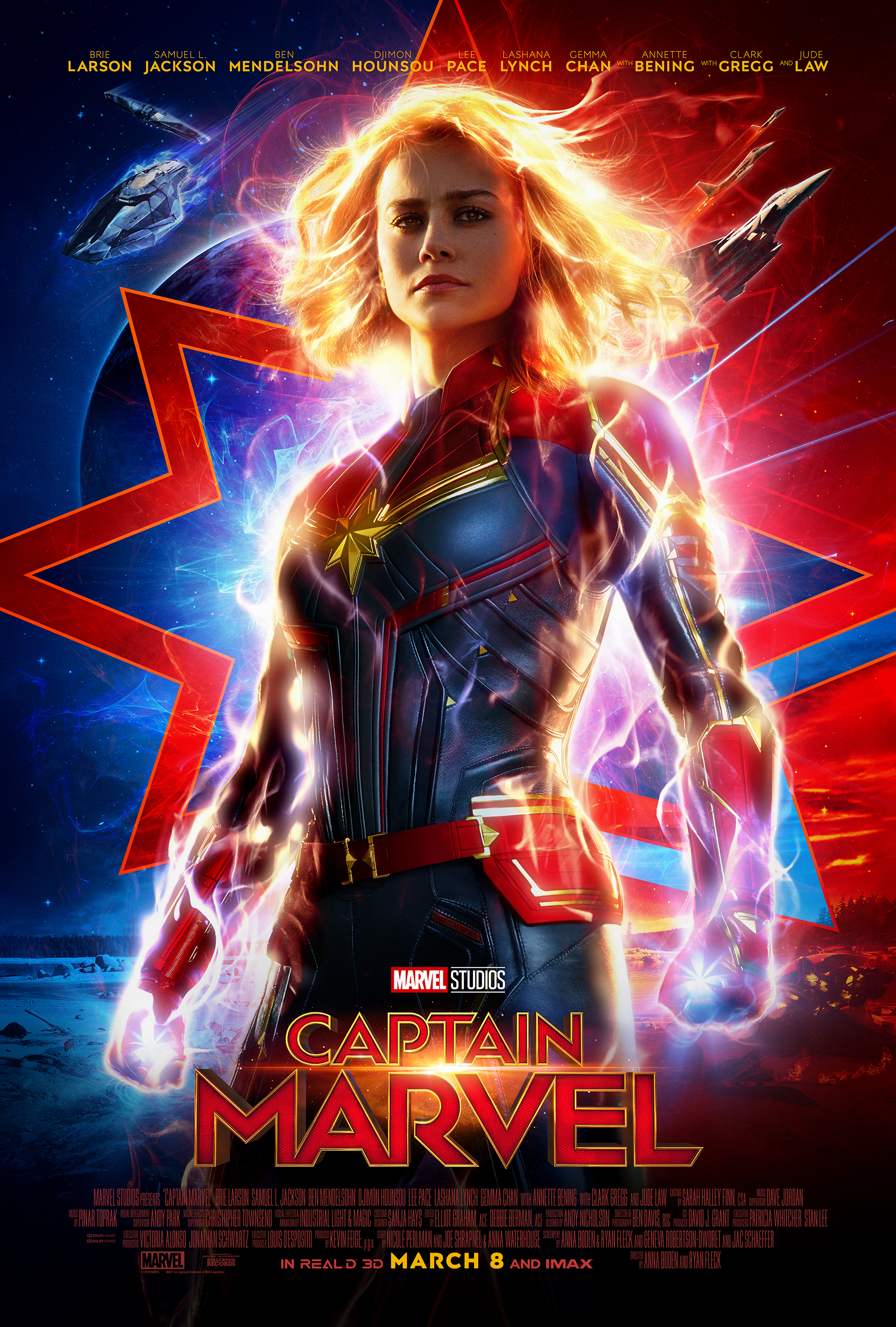 Captain Marvel is the first Disney movies coming out in 2019!