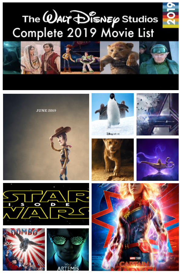 The complete list of Disney movies coming out in 2019! These live-action remakes and innovative novel-based films will be the highlight of your year! #DisneySMMC