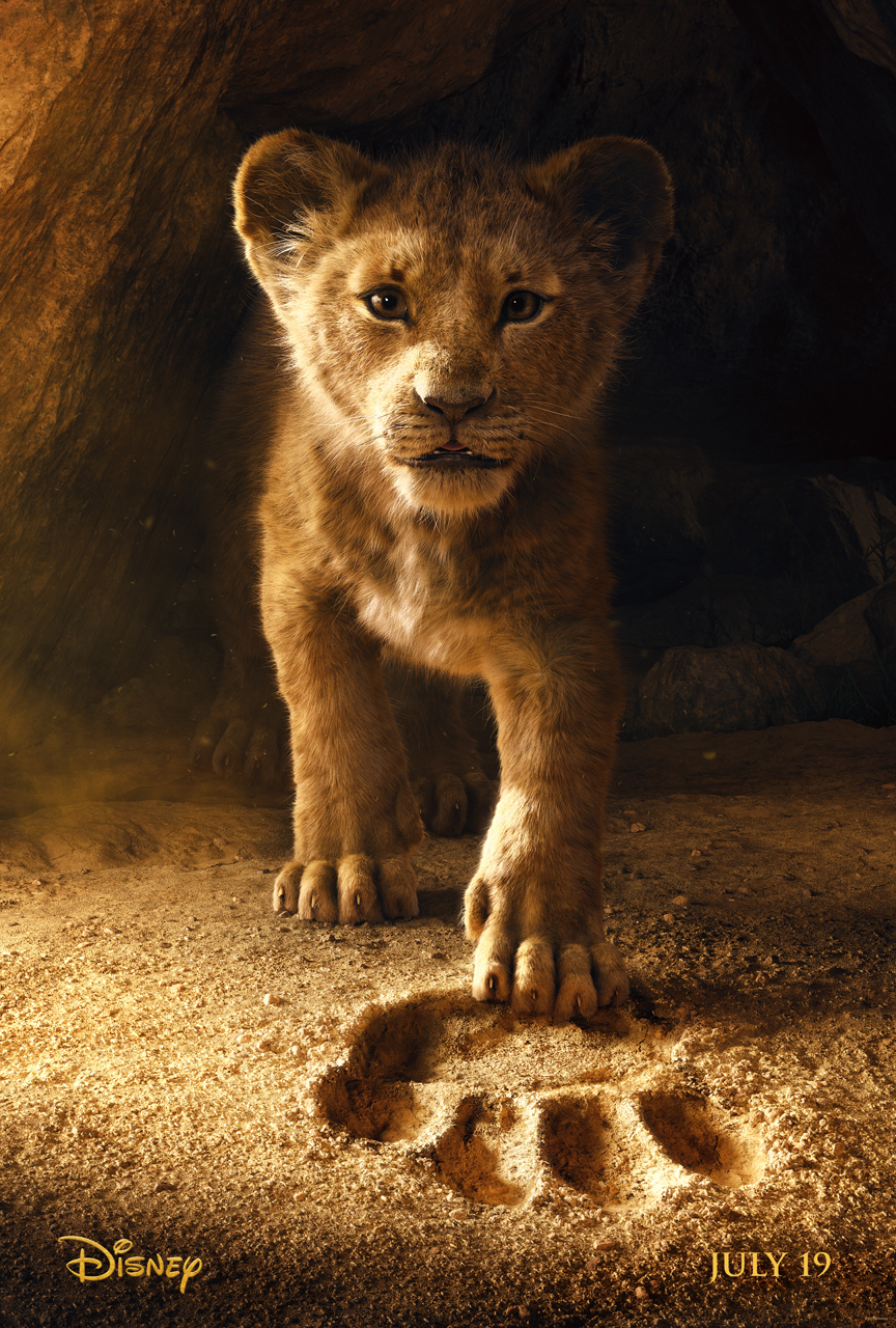 Meet Simba in the upcoming live-action remake of the Lion King, one of the Disney movies coming out in 2019!