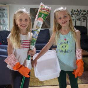 Sanity-Savers for Spring Cleaning with Kids