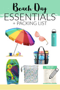 Summertime Beach Essentials and Packing List