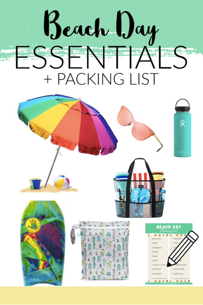 Now that I have kids, I put a little more prep into beach trips. This is our summer time beach essentials for a day at the coast, including packing list!