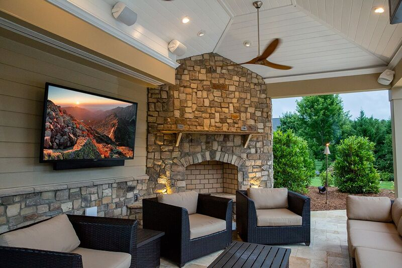 SunBrite TV Veranda Series for outdoor entertainment and patio decor.