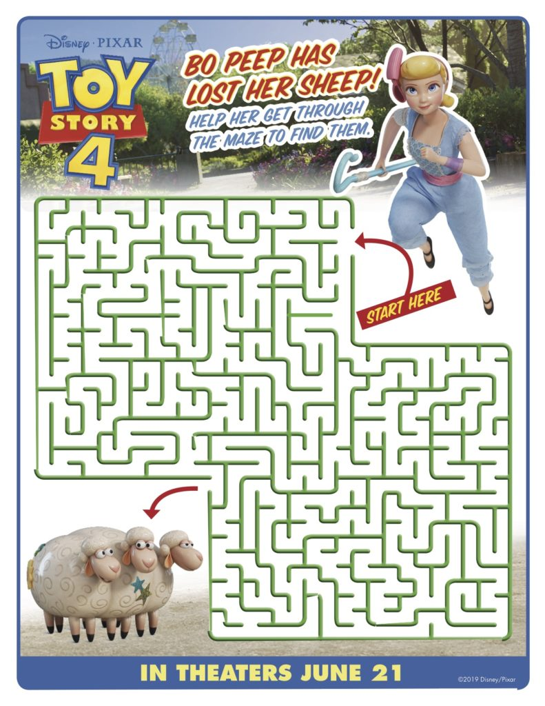 Toy Story 4 Activities And Coloring Pages Simply Sweet Days