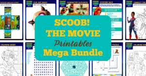 Scoob! Movie Printable Activity Pages
