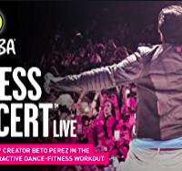 Zumba Fitness Concert LIVE
