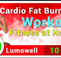 10-Minute Cardio Fat Burning Workout