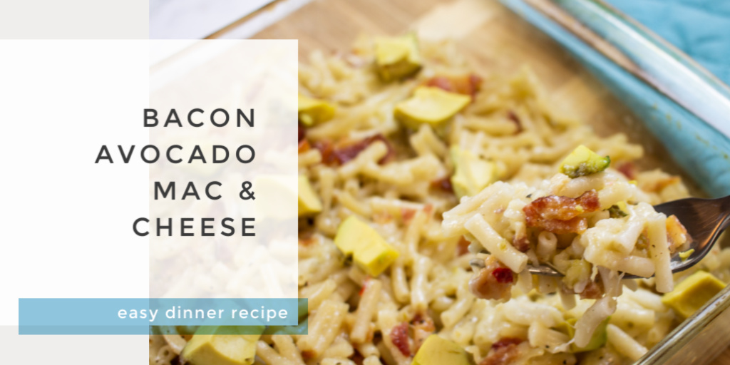 bacon avocado mac and cheese recipe