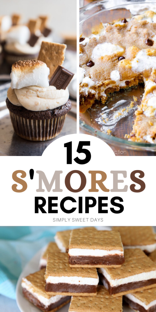 Do you love warm, gooey marshmallows and chocolate? Then you'll love these 15 sweet s'mores recipes. And the best part is you can make them at home!