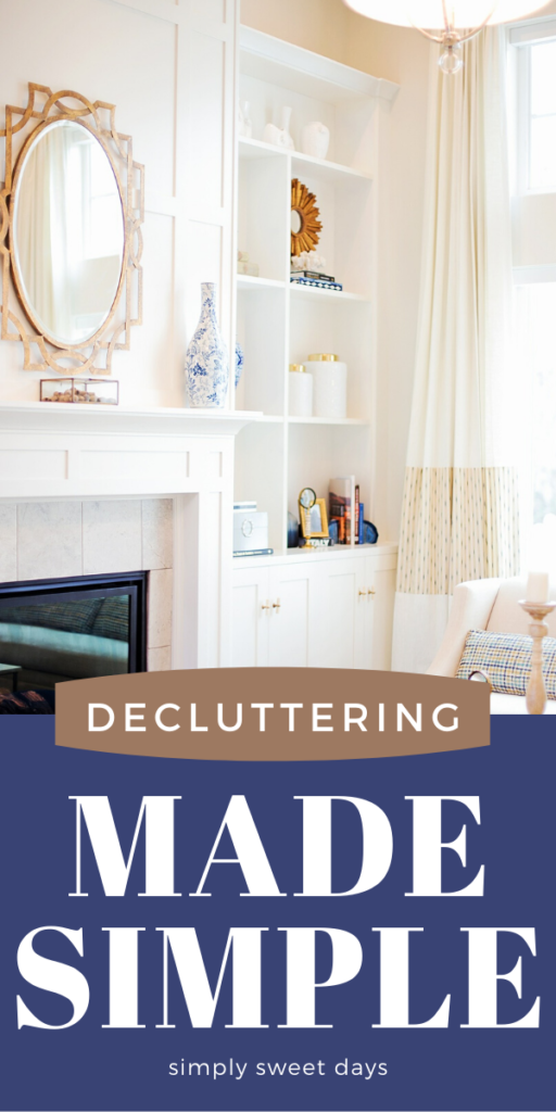 These 4 quick tips will help you stay on top of household clutter and give you a plan for a more organized and tidy home.