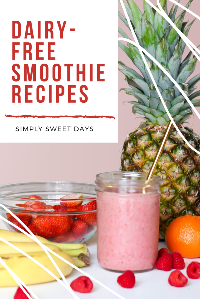 These 6 dairy-free smoothies make quick and easy meals easy on your gut! Just toss the ingredients together for a nutritious, belly-filling treat!